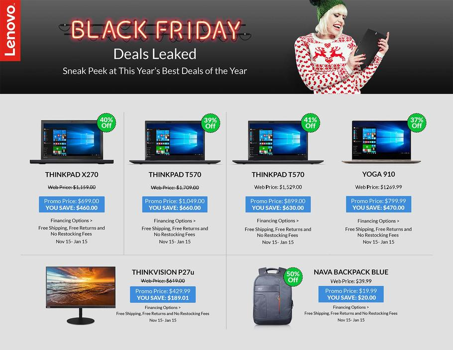 lenovo black friday coupon