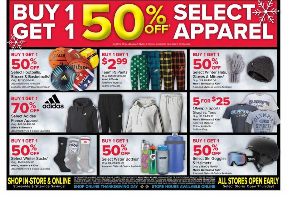 photo relating to Olympia Sports Printable Coupons identify Olympia Athletics Black Friday Adverts, Gross sales, Promotions, Doorbusters