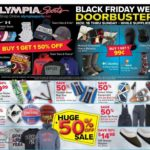 image regarding Olympia Sports Printable Coupons named Olympia Sporting activities Black Friday Advertisements, Revenue, Bargains, Doorbusters
