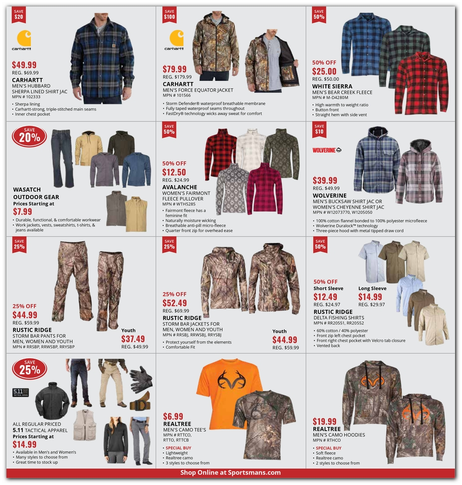 Sportsman S Warehouse Black Friday Ads And Deals 2018