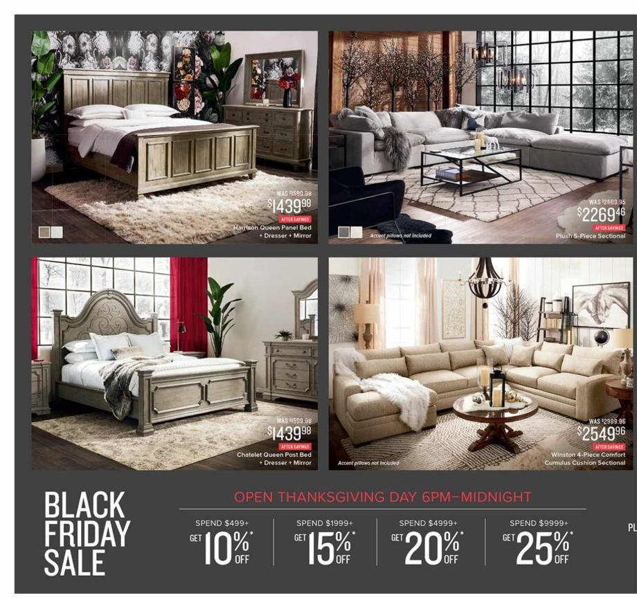 Value City Furniture Black Friday Ads Sales Deals 2018 Couponshy