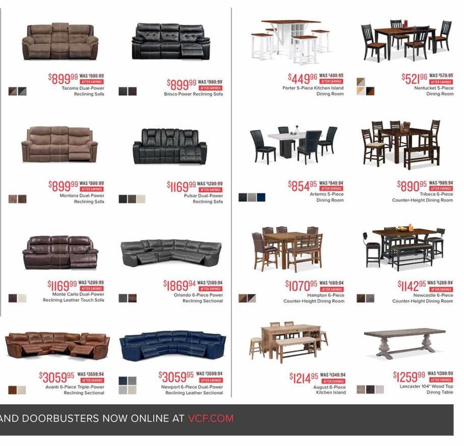 Value City Furniture Black Friday Ads, Sales, Deals 2018