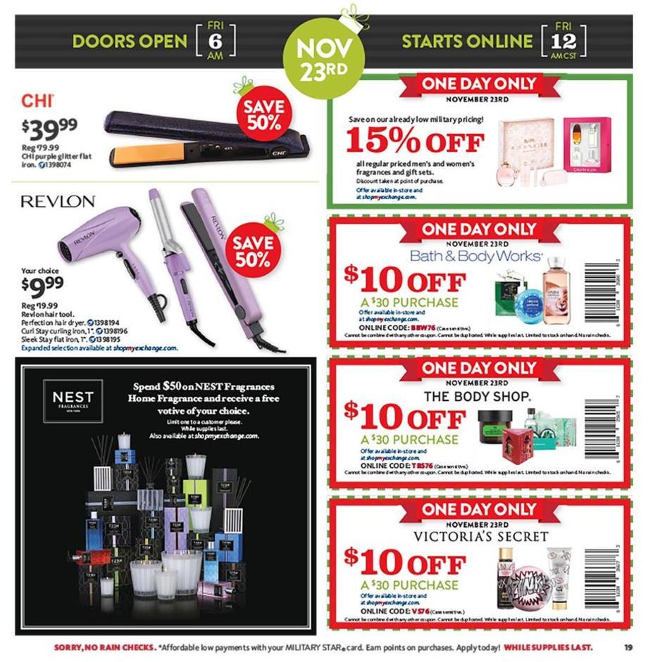 Aafes Exchange Black Friday Ads Sales Doorbusters Deals