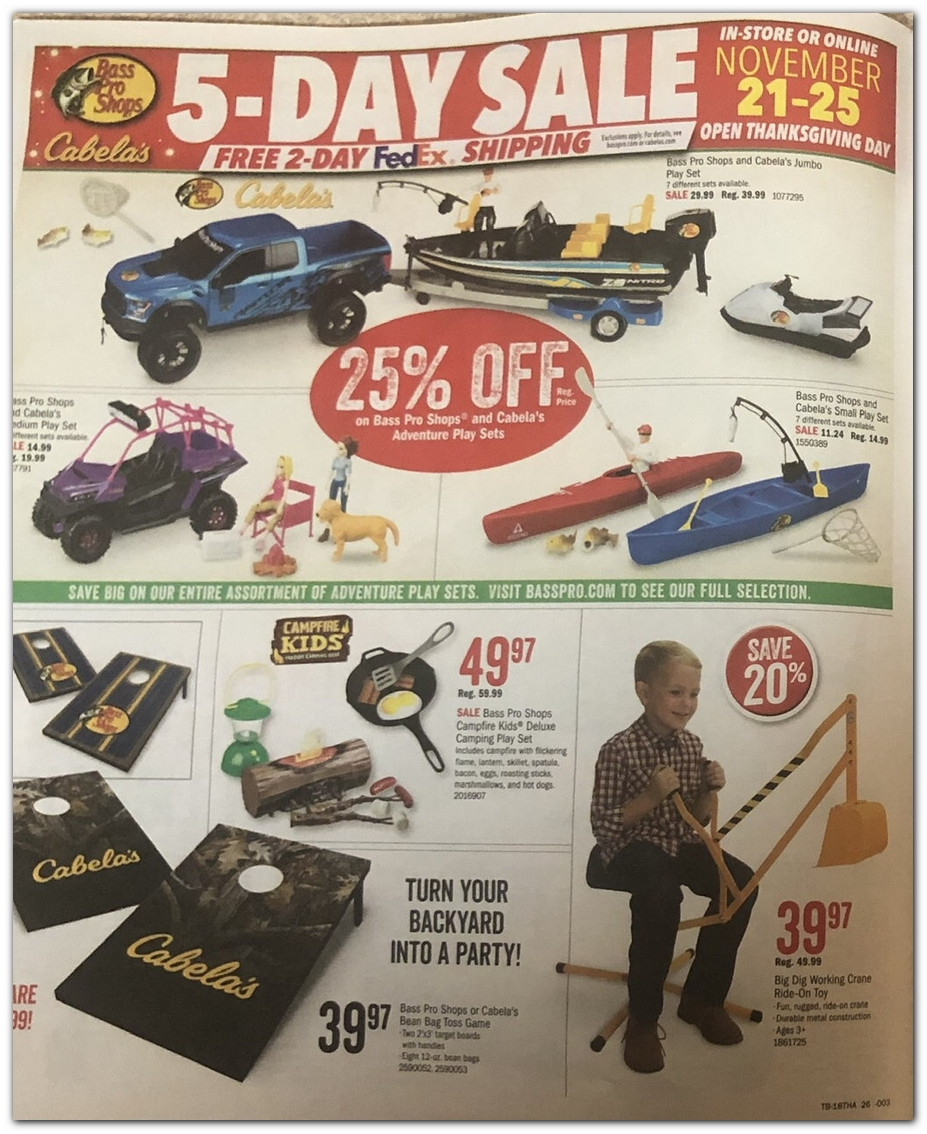 Bass Pro Shops Black Friday Ads Sales Doorbusters Deals
