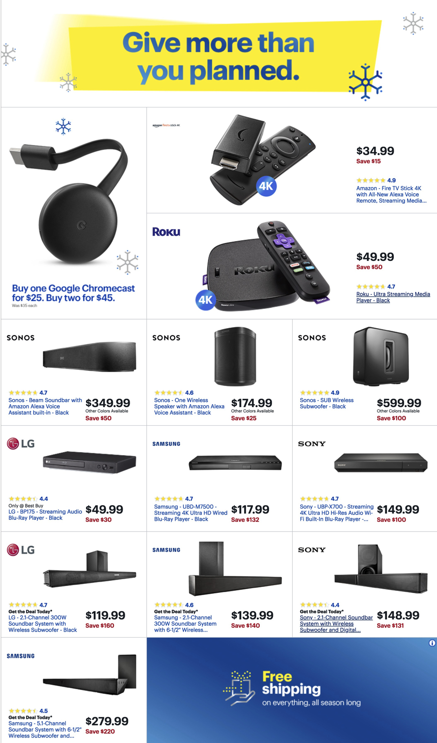 Best Buy Black Friday Ads Sales And Deals 2018 Couponshy