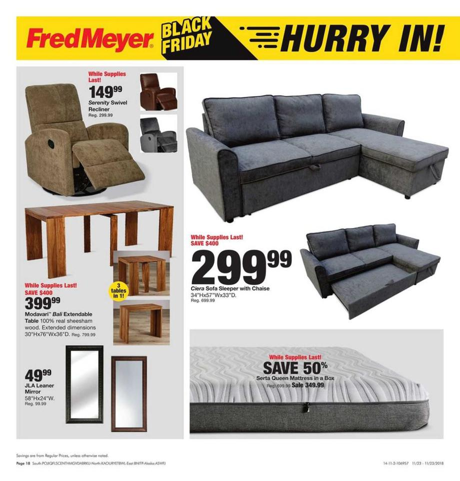 Fred meyer friday and saturday sale