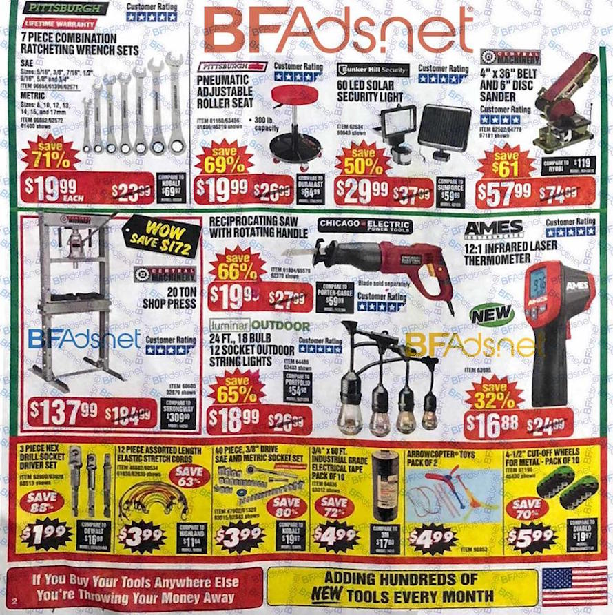 Harbor Freight Black Friday Ads Sales Deals 2018 – CouponShy