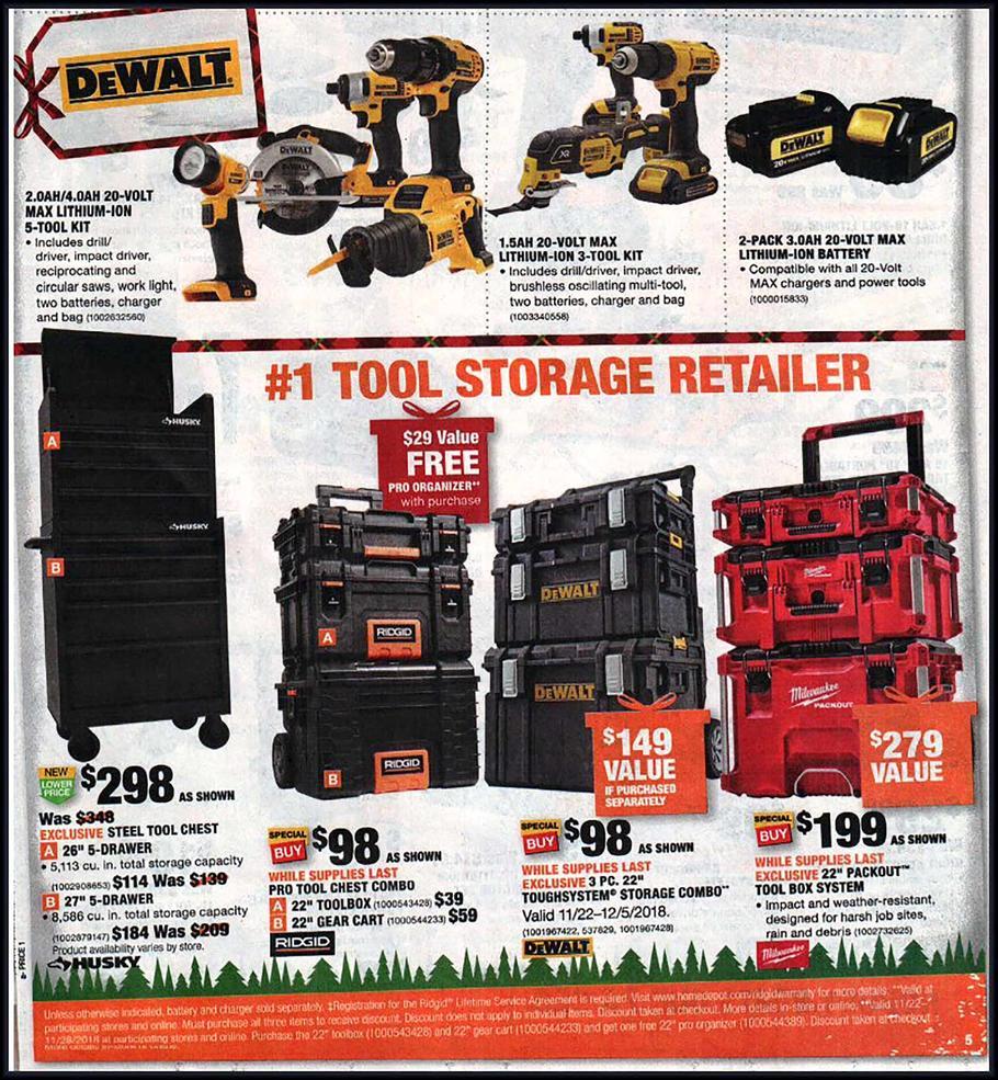 Home Depot Black Friday Ads, Sales, Deals Doorbusters 2018