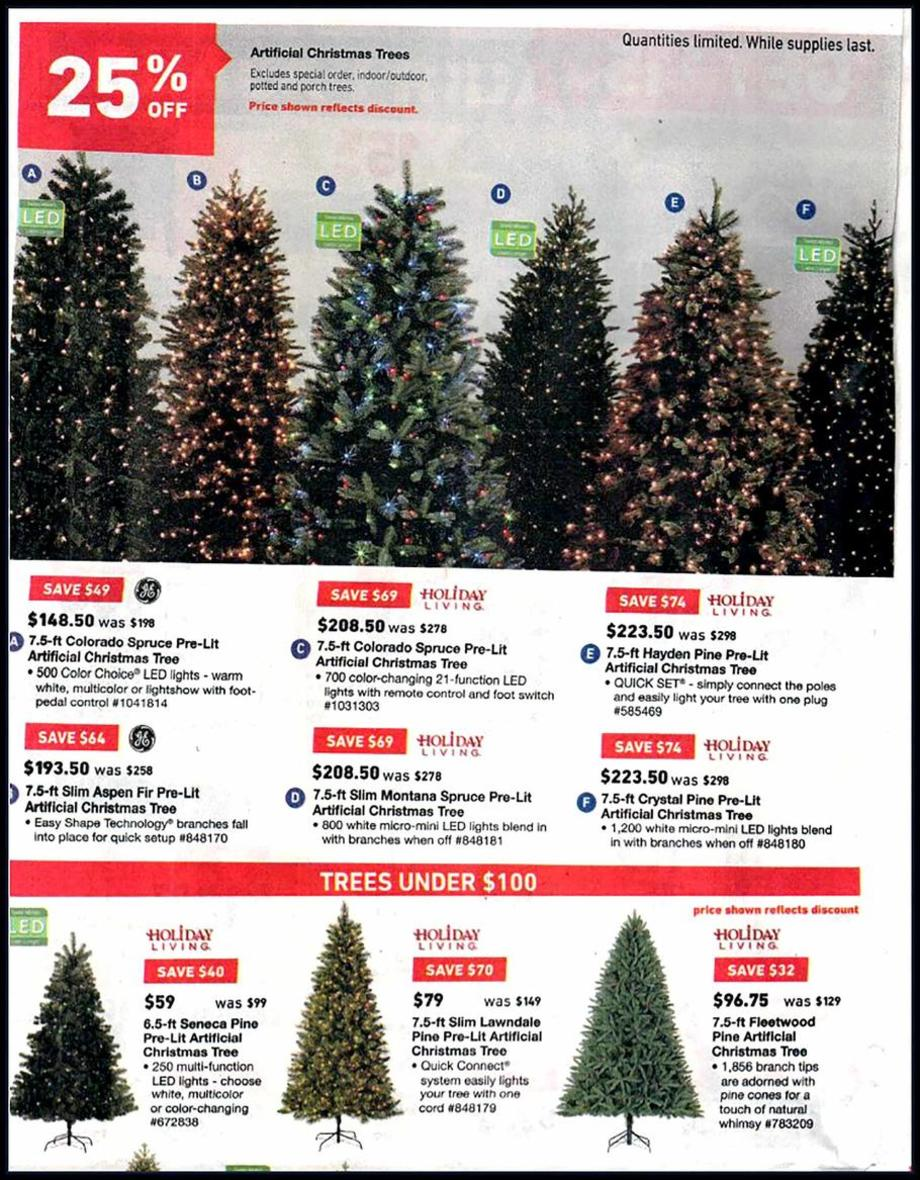 lowes coupon code christmas tree