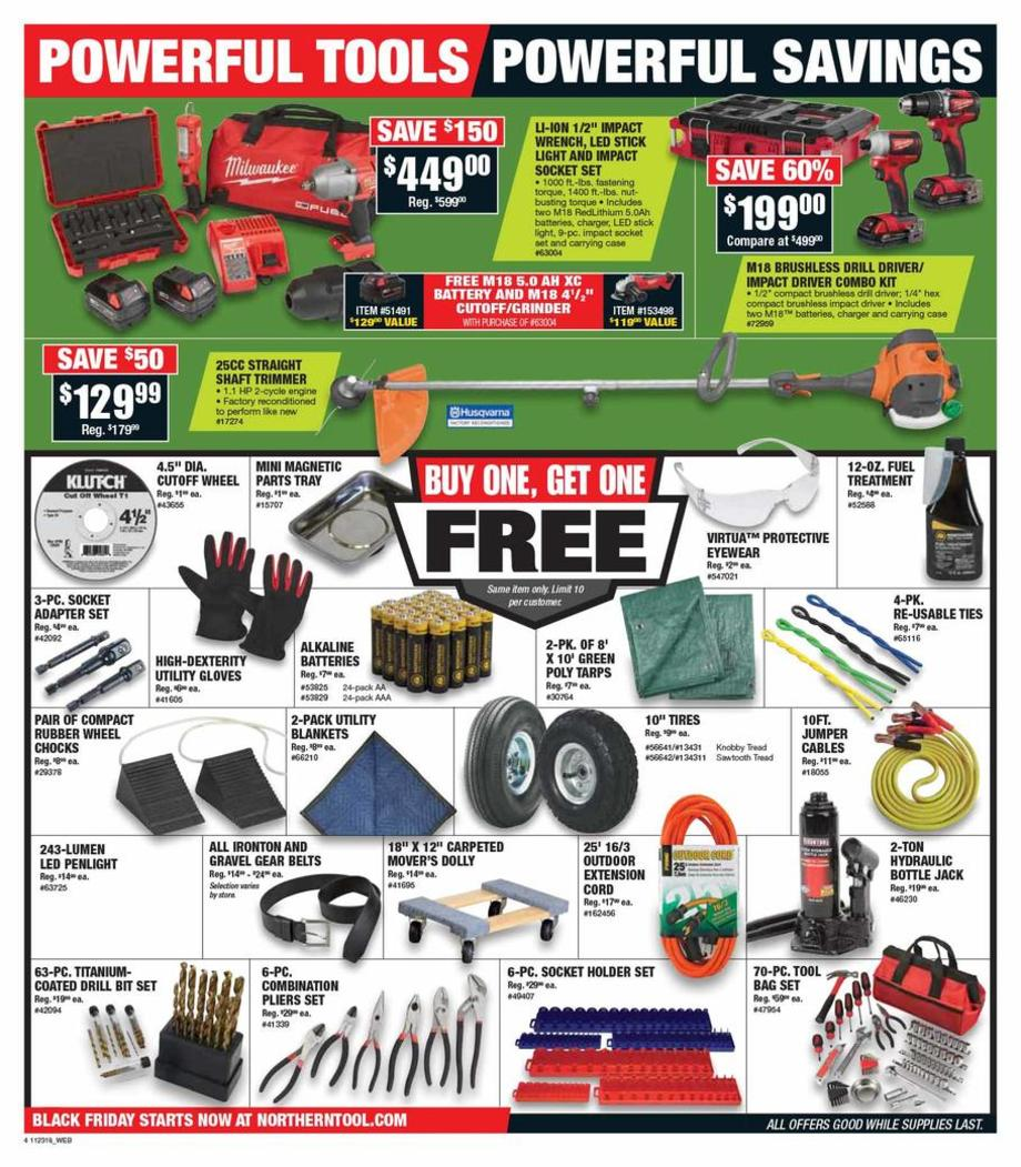 photograph about Northern Tool Coupon Printable named Northern Instrument Black Friday Adverts, Product sales, Promotions, Doorbusters
