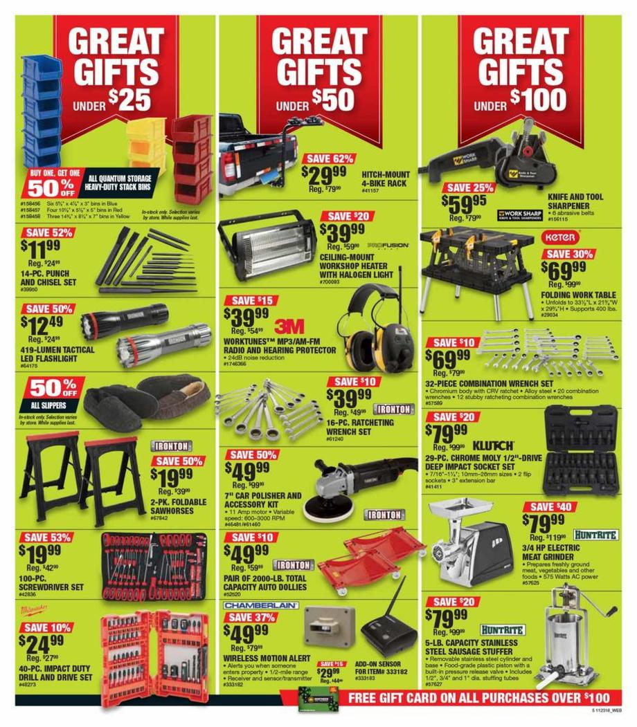 picture about Northern Tool Coupon Printable identified as Northern Instrument Black Friday Adverts, Product sales, Discounts, Doorbusters