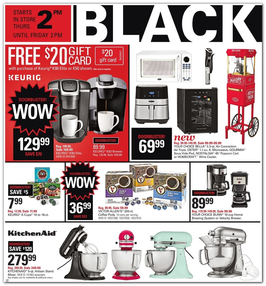 image about Shopko 20 Off Printable Coupon referred to as Shopko Black Friday Adverts, Gross sales, and Discounts 2018 CouponShy
