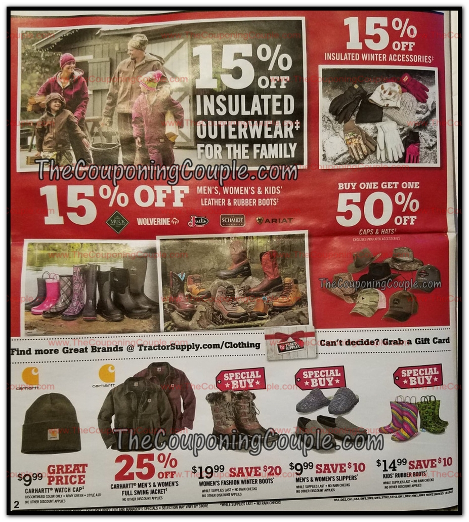 tractor supply black friday ads sales and deals 2018 couponshy. Black Bedroom Furniture Sets. Home Design Ideas