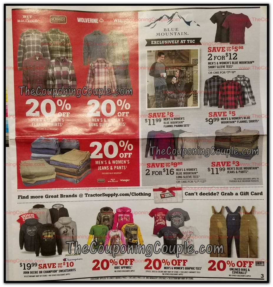 image regarding Printable Tractor Supply Coupon identify Tractor Present Black Friday Adverts, Product sales, and Offers 2018