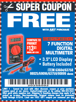 Build more with Harbor Freight Tools coupons and sales for December, at ezeciris.ml Today's top discount: $ Off!