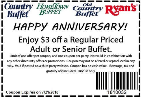 graphic about Hometown Buffet Coupons Printable titled Residence design and style buffet coupon codes : Joesph a financial institution