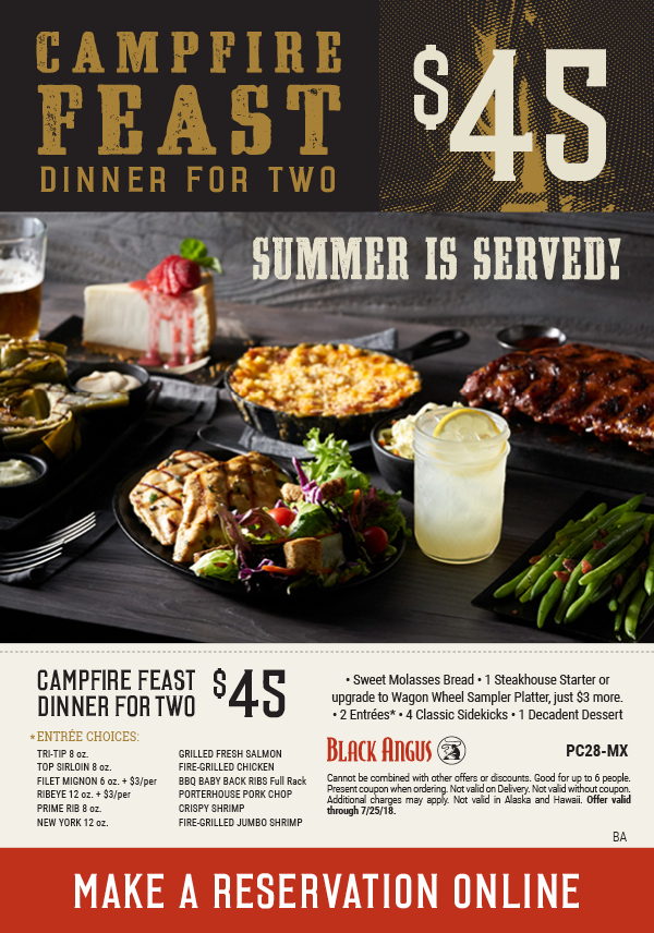 black angus campfire feast coupon