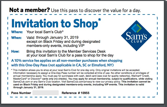 Recently Expired Sams Club Coupons