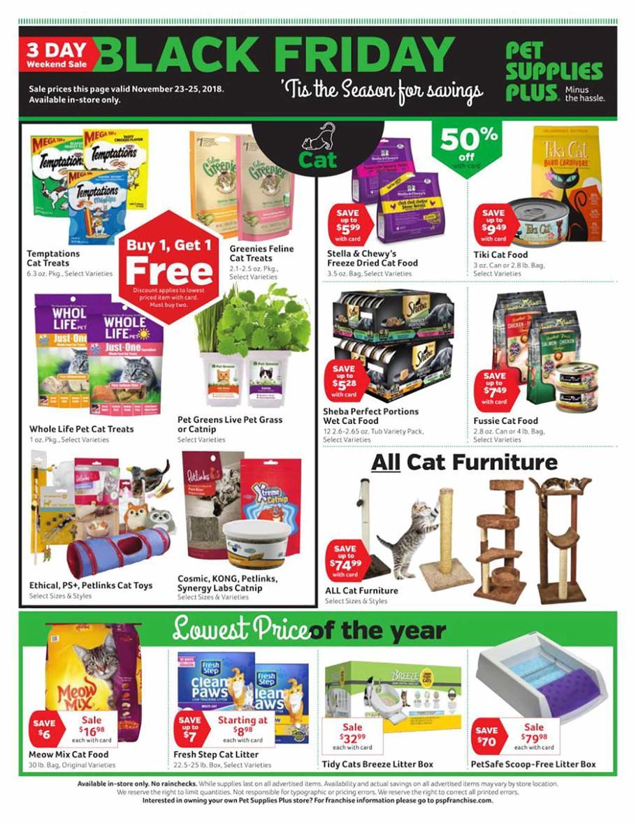 Pet Supplies Plus Black Friday Ads Doorbuster Deals Sales