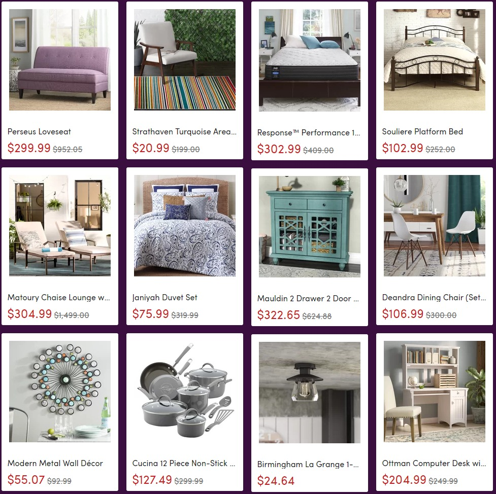 Wayfair black friday coupon