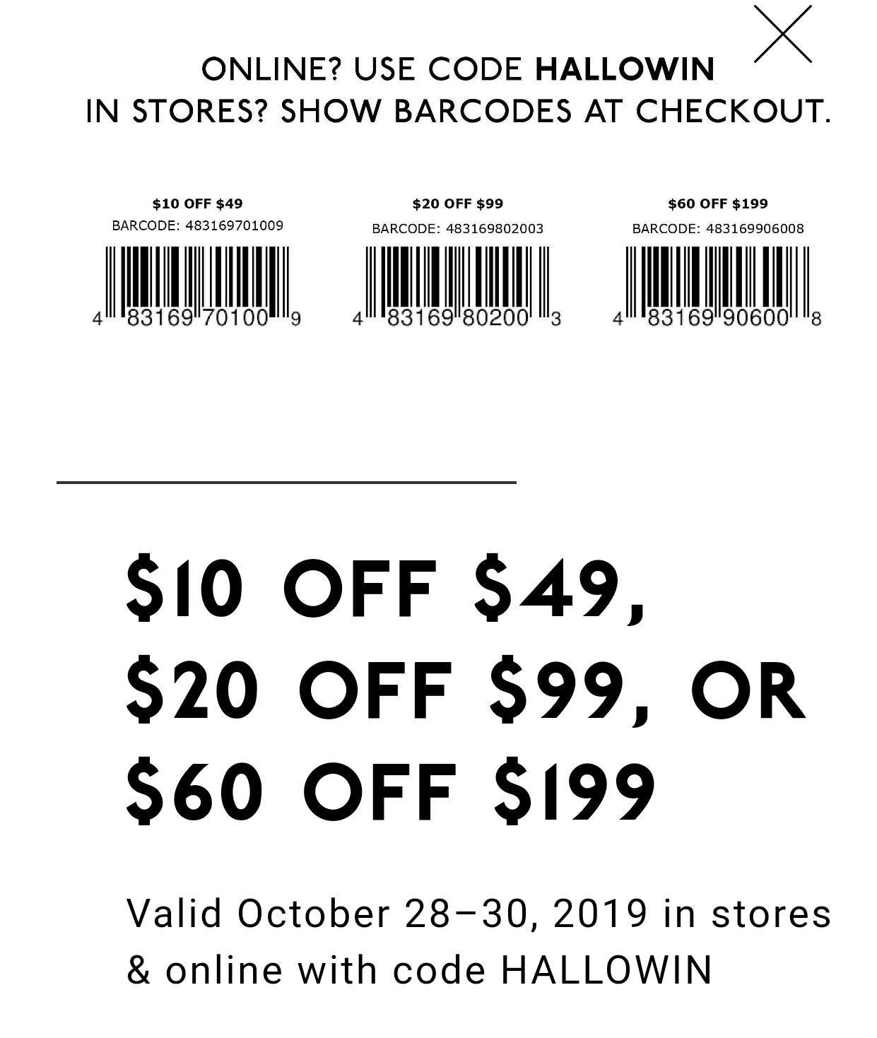 It's just a graphic of Stupendous 20 Off Dsw Coupons Printable
