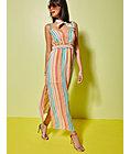 Multicolor Stripe Maxi Dress - New York & Company