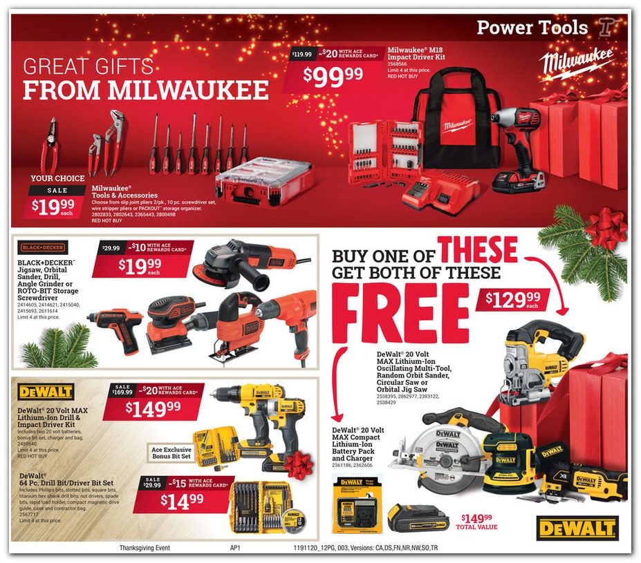 Ace Hardware Black Friday Ads Deals Sales 2019 Couponshy