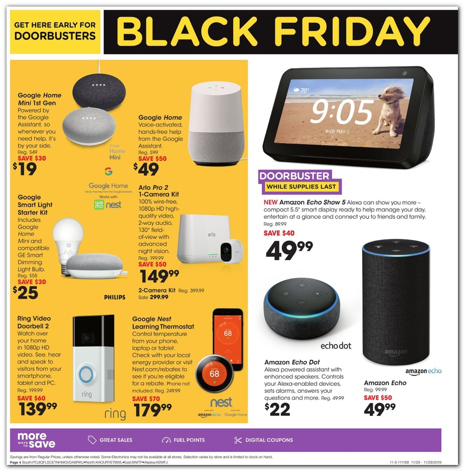 Fantastic Fred Meyer Black Friday Ads Sales Doorbusters And Deals Inzonedesignstudio Interior Chair Design Inzonedesignstudiocom