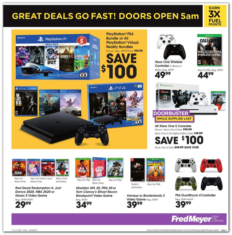 Astonishing Fred Meyer Black Friday Ads Sales Doorbusters And Deals Inzonedesignstudio Interior Chair Design Inzonedesignstudiocom