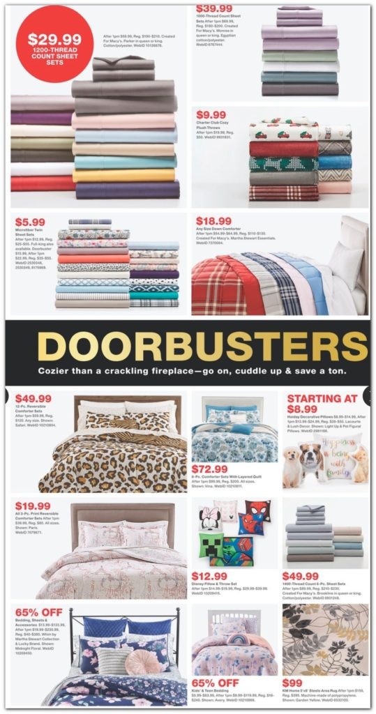Macy S Black Friday Ads Sales Doorbusters And Deals