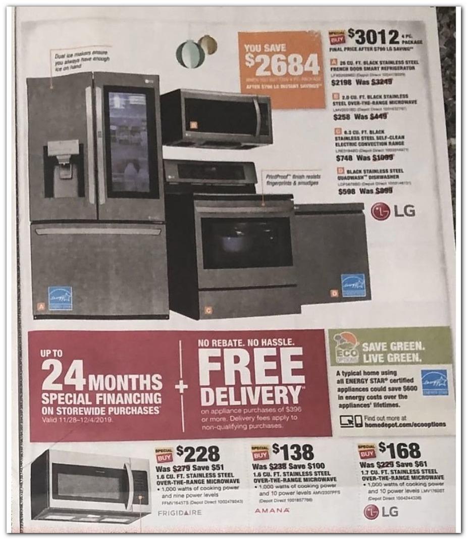 Home Depot Black Friday Ads Sales Deals Doorbusters 2019