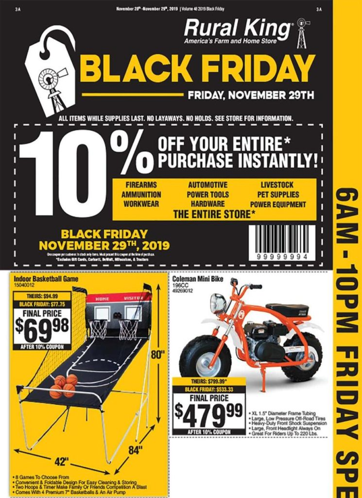 Rural King Black Friday Ads Sales Deals Doorbusters