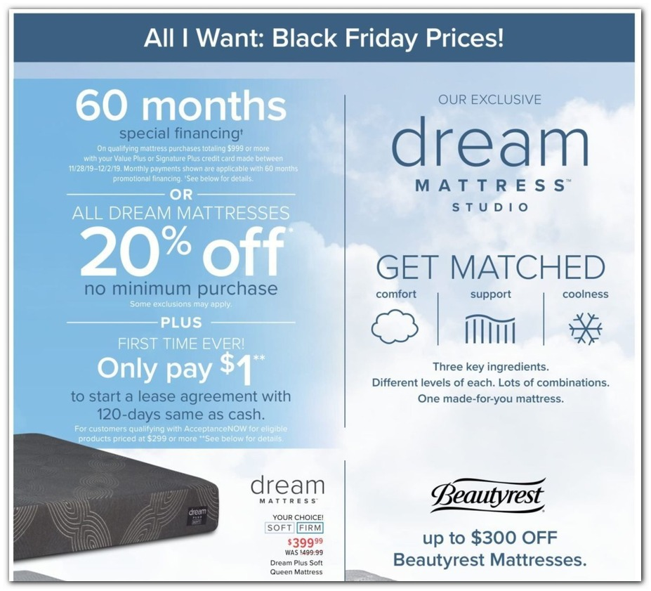 Furniture Stores Black Friday Sales: Value City Furniture Black Friday Ads, Sales, Deals 2019