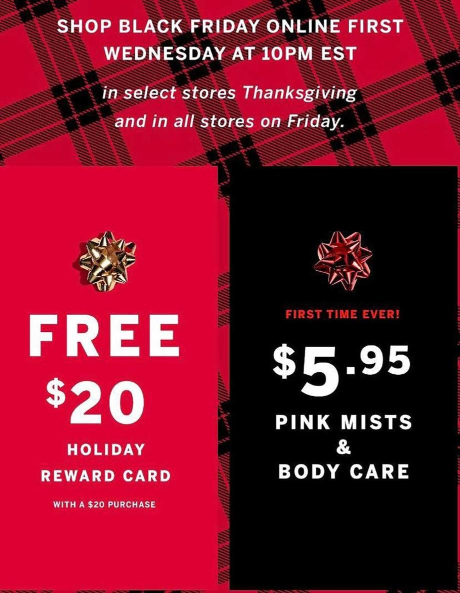 Victoria S Secret Black Friday Ads Sales Doorbusters Deals 2019 Couponshy
